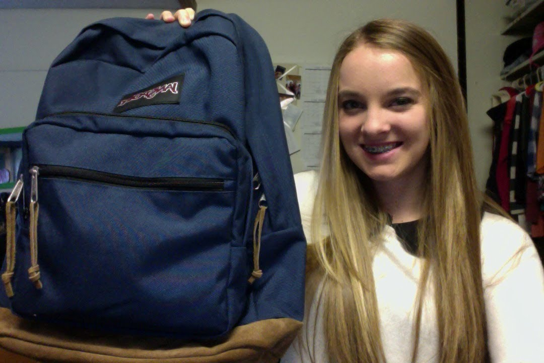 Jansport Right Pack Review Navy - YouTube d3496af210