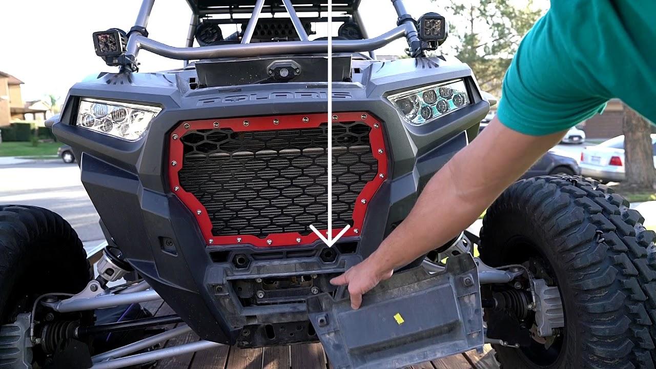 2017 Polaris RZR XP Turbo Front Grille Install