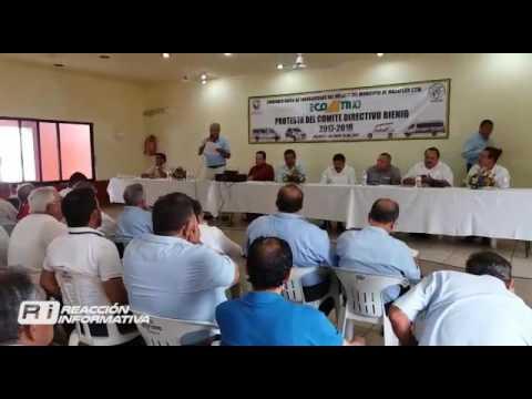 Protesta del comité Directivo Bienio mazatlán 2017