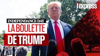 Independence Day : la boulette de Donald Trump