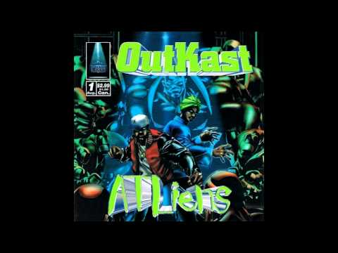 OutKast | ATLiens - 04 - Wheelz Of Steel [Instrumental]
