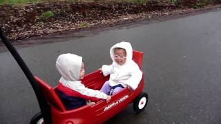 First wagon ride.MOV