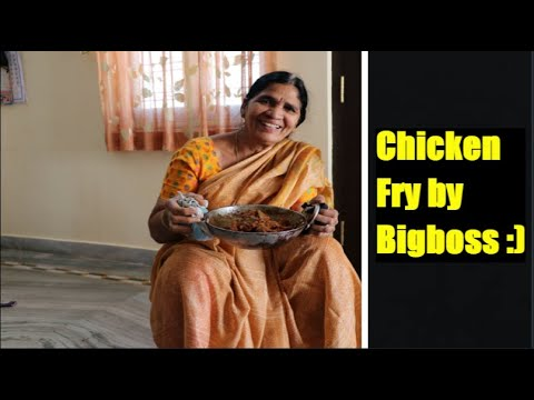 Big Boss Chicken Fry - Tasty Chicken Fry which can be served with rice 😋❤❤