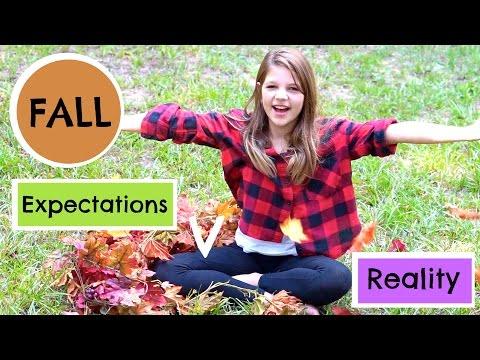 Fall Expectations vs Reality