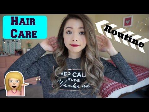 Chăm Sóc Tóc và Làm Xoăn Tự Nhiên ♡ My Hair Care Routine ♡ TrinhPham