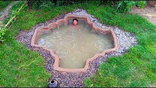 Best Video Build Mini Underground Swimming Pool
