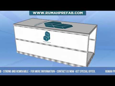 FLATPACK PREFAB HOUSE – MODULAR HOUSE RUMAHPREFAB.COM