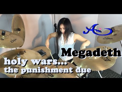 Megadeth - Holy wars... Punishment due Drum cover by Ami Kim (8th)