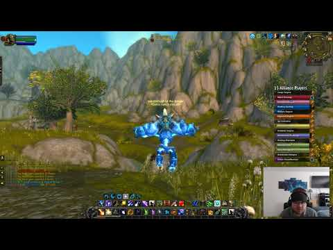 The night elf who jumps off cliffs balance druid pvp 8.0.1