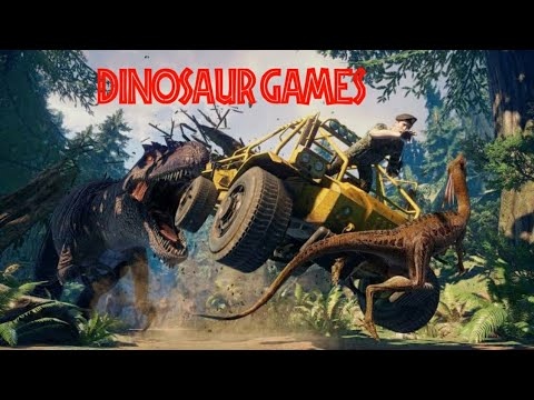 Top 4 High Graphics Dinosaur Games For Android || In Hindi