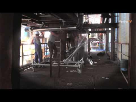 Видео Труба ду 200 из листа оцинковка