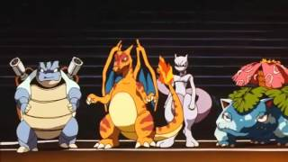 Pokemon Vs Pokemon Clones (Pokemon La Pelicula: Mew Vs. Mewto)