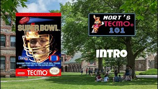 Mort's Tecmo 101 Video Series - Intro