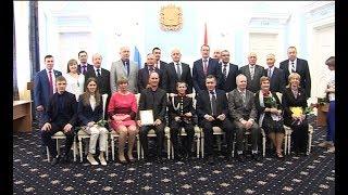 Вручение ежегодной спортивной премии Губернатора Омской области «Доблесть»