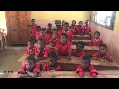 Merci les amis d'Azé, Classe de CP  | Association Azé, Tuléar, Madagascar