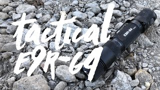 Powertac E9R-G4 Tactical Style USB Flashlight Review