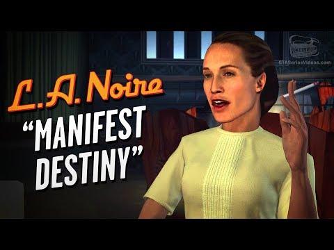 LA Noire Remaster - Case #20 - Manifest Destiny (5 Stars)