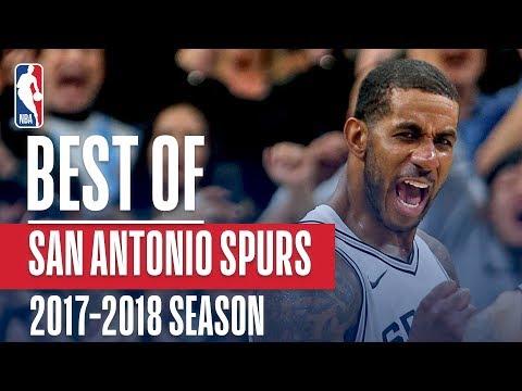 Best of San Antonio Spurs | 2017-2018 NBA Season