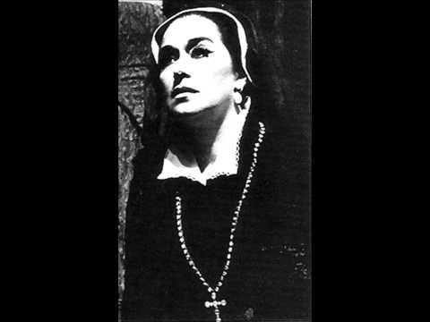 Leyla Gencer - D'un cor che muore - Maria Stuarda - Donizetti - Live Paris 1981