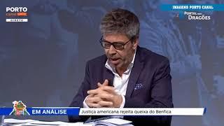 Justiça americana rejeita queixa do Benfica