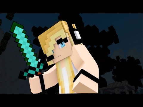 New Minecraft Song ♫ DIe For You ♫ Psycho Girl Ep 18  Minecraft Song and Animation Series