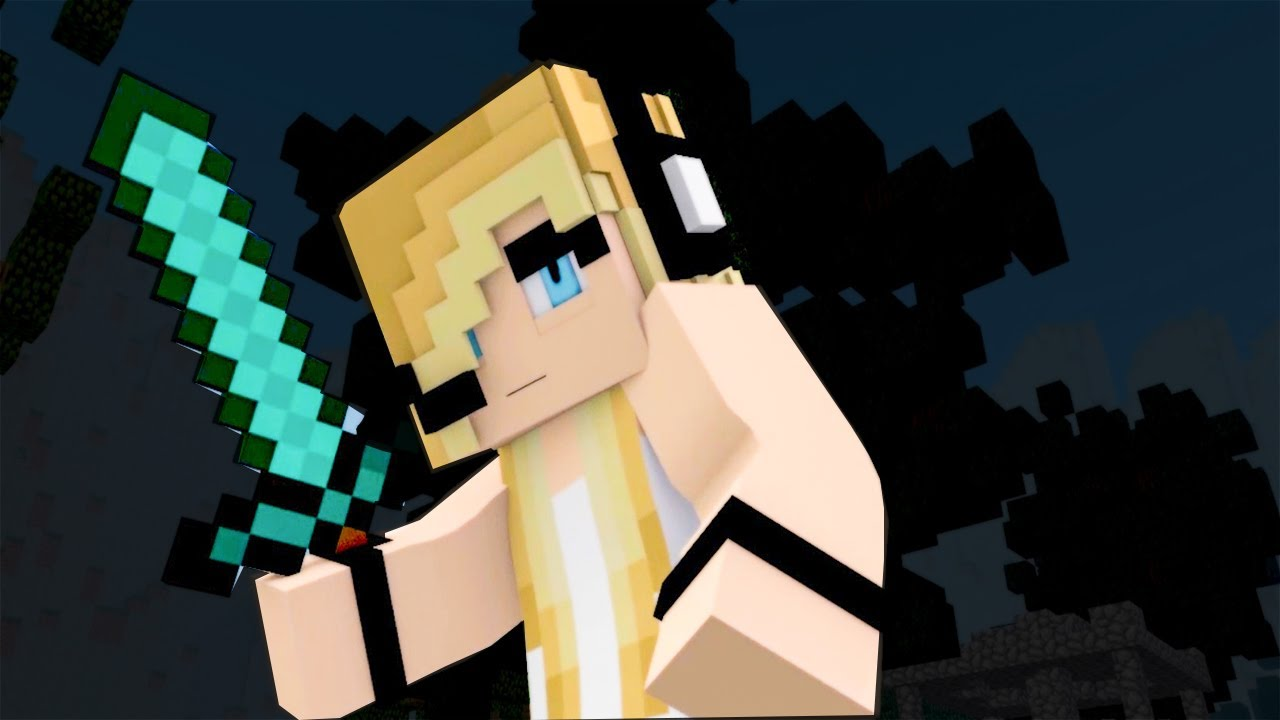 New Minecraft Song ♫ Die For You ♫ Psycho Girl Ep 18