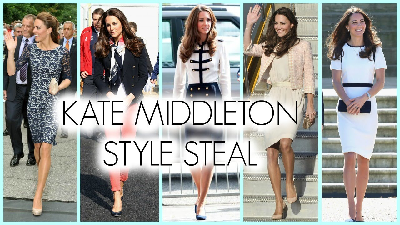 Kate Middleton Style Tutorial Makeup Hair Fashion