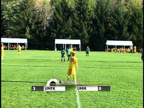 UMFK Men's Soccer vs. University of Maine at Machias - October 9, 2013