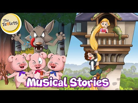 Rapunzel Musical Story I Little Red Riding Hood I Fairy Tales And Bedtime Stories I The Teolets