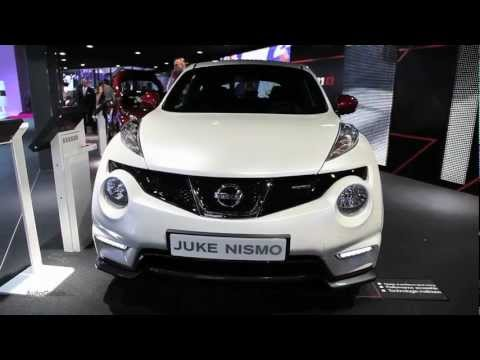 New Nissan Juke NISMO - 2012 Paris Motor Show