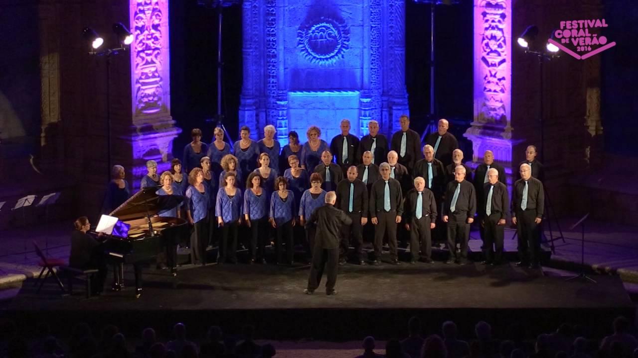 Kibbutz Artzi Choir: Festival Choral de Verao Lisbon, Portugal - 26-June 2016 - מקהלת הקיבוץ הארצי