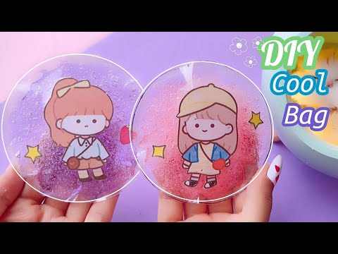 how to make cool Pack Easy / Paper Toy Ice Squishy /DIy Ice pack 아이스팩 만들기 / 쿨팩 만들기 / 아이스 스퀴시 #shorts