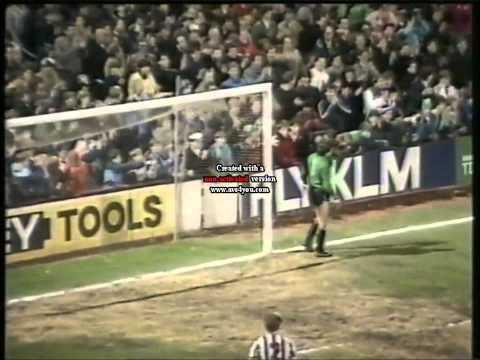 West Ham United v Newcastle United 21st April 1986 8-1