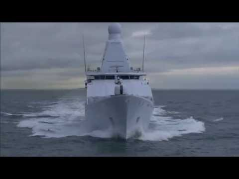 The New 'Holland' Patrol Vessel in Open Waters