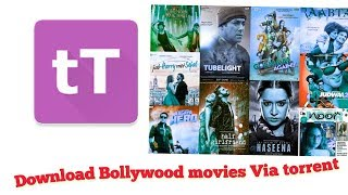 Download Any Bollywood/Hindi HD movies Via torrent In Android Phone Urdu/Hindi
