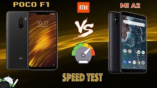 poco f1 vs mia2 speed test