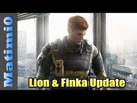 New Operators Lion & Finka - Rainbow Six Siege