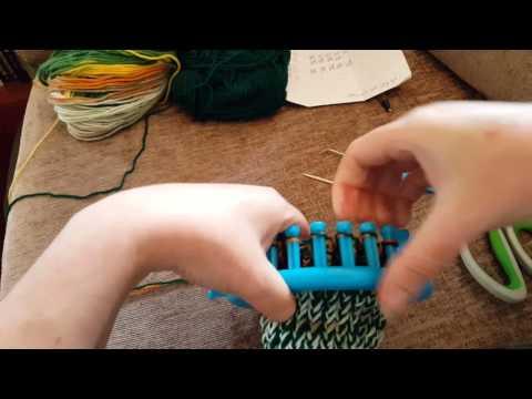 Loom Knitted Socks