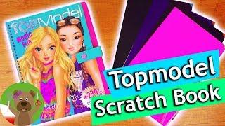 Nowa książka Top Model | zdrapywanki | Magic Fun Scratch Book | trzy kreacje