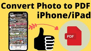 How to Convert Photos to PDF on iPhone and iPad 2020: No Third-Party App
