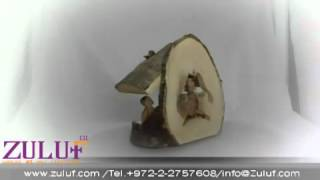 Olive Wood Nativity - Hand Made From The Holy Land