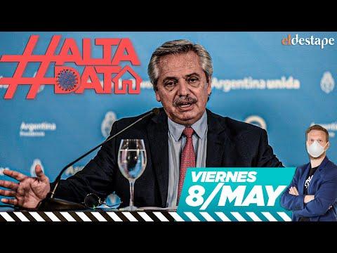 Alta Data | Coronavirus en Argentina: Alberto Fernández anuncia nueva fase de la cuarentena