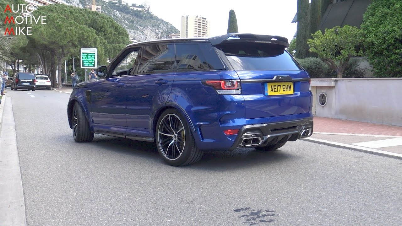 Overfinch Supersport Most Badass Range Rover Sport Svr Top