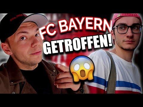 FC BAYERN MÜNCHEN GETROFFEN!!! 😳 THOMAS MÜLLER = LUSTIGSTER TYP