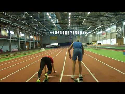 Track and Field -  Standing jumps and...