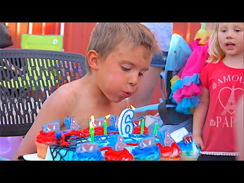 BROCK'S 6th BiRTHDAY BASH!