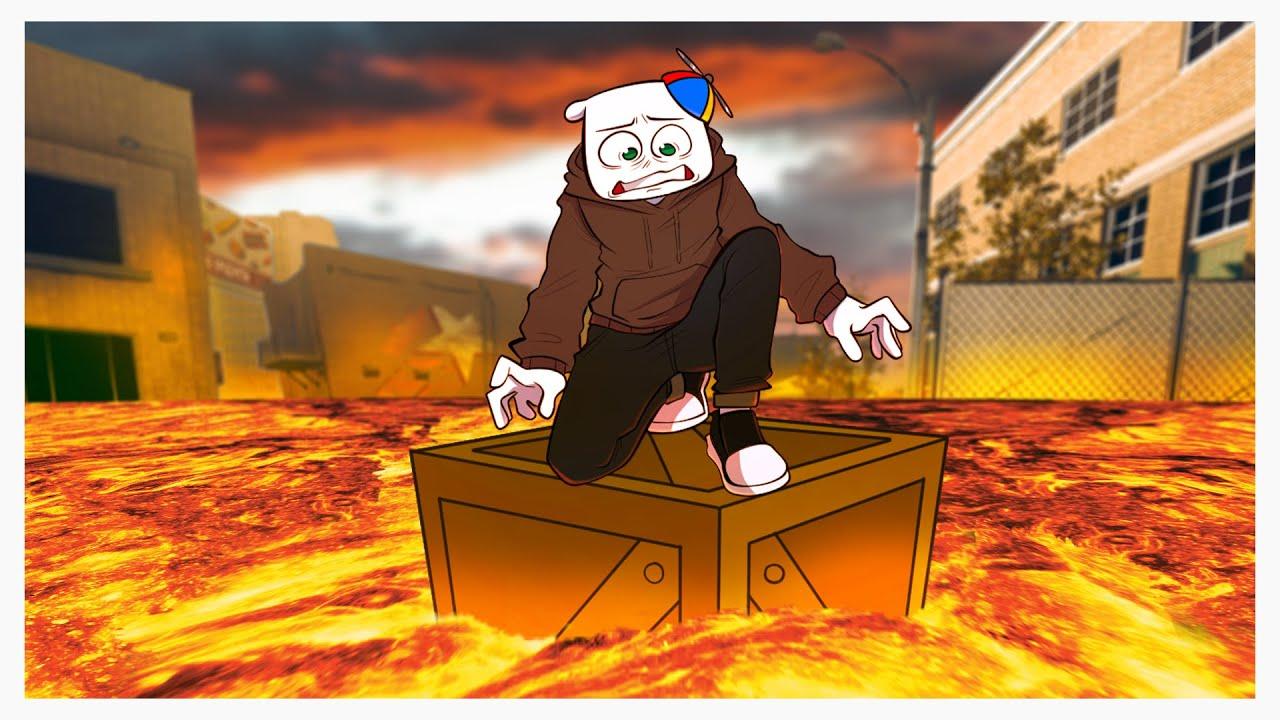 The Floor is Lava Warzone Challenge