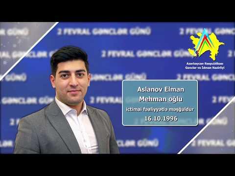 İlin Gənci 2017 - Elman Aslanov