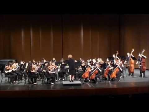 Bernardo Yorba Middle School Orchestra at EDHS 2013 2014