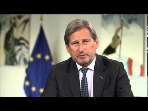 Johannes Hahn speaks for BIRN's regional media conference 'Media Freedom Challenges'